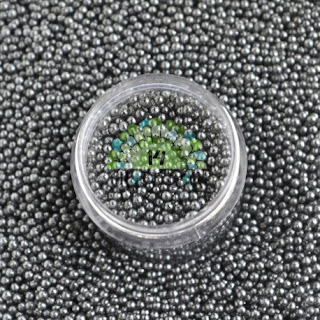 metalized micro beads