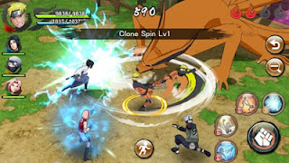 Naruto X Boruto Ninja Voltage v1.1.4 Mod Apk (English Version)