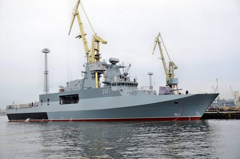 ВМС Польщі отримали корвет, який будували 18 років