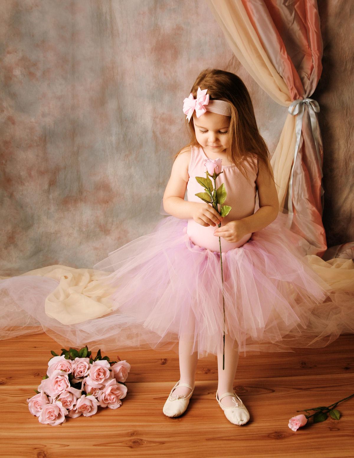 Самому букет, балерина с букетом фото
