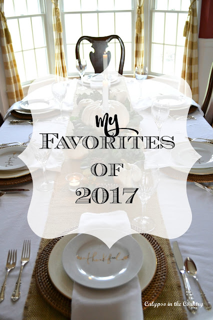 My Favorite Blog Posts of 2017