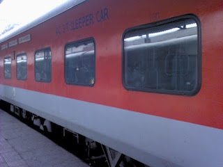 Project Swarna for Rajdhani / Shatabdi Trains