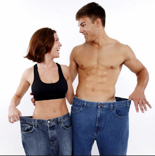 Slimmer Body Man And Woman