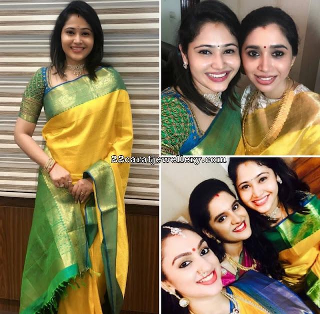 Priya Atlee Aarthi Ravi Jewellery