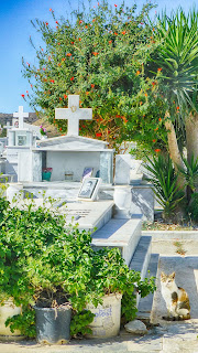 Friedhof Kardamena, Kos, Griechenland