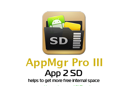 AppMgr Pro III (App 2 SD) v3.64 Apk