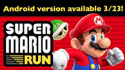 Super Mario Run llega este 23 de Marzo para dispositivos Android
