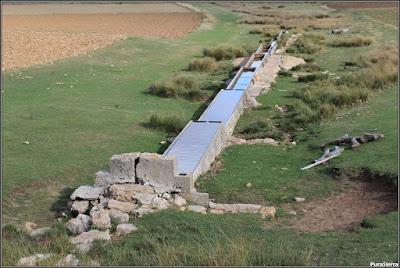 Fuente del Pie Izquierdo, reclamada como nacimiento del Tajo por el Ayuntamiento de Villar del Cobo