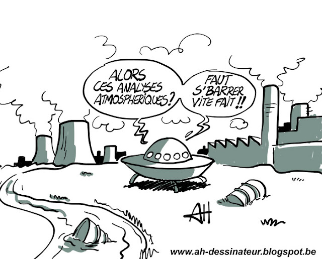 Pic de pollution, dessin