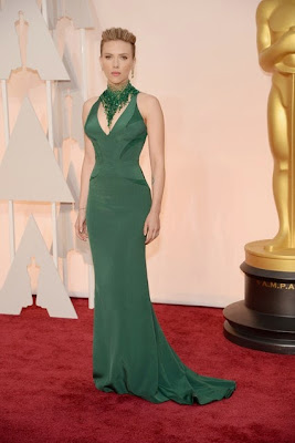 Scarlett Johanson Oscars 2015
