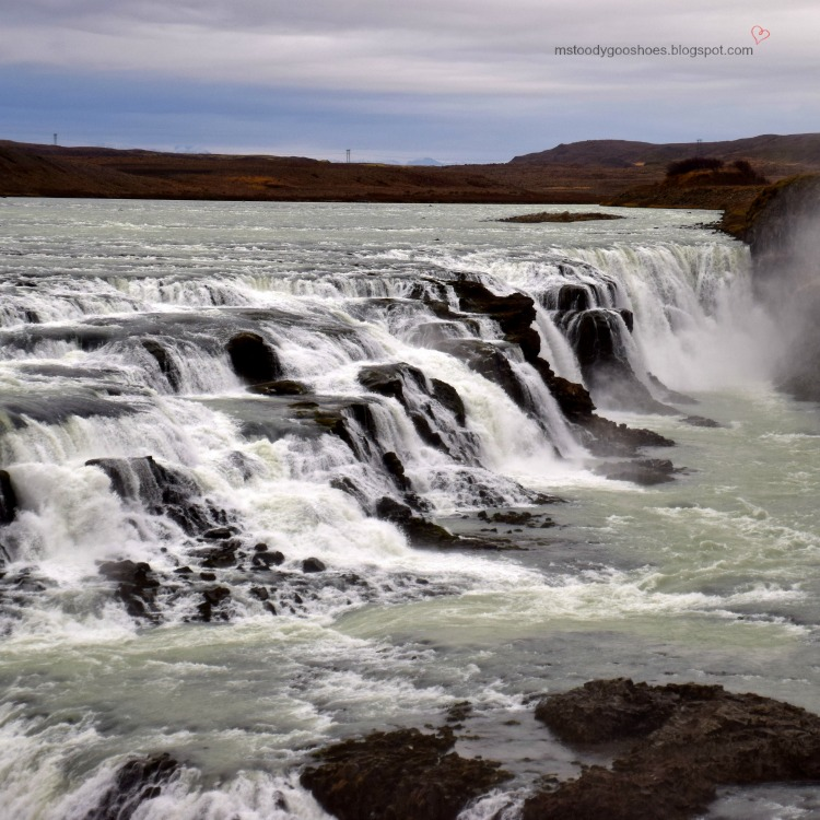 Gullfoss Waterfall in Iceland | Ms. Toody Goo Shoes