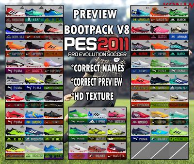 PES 2011 BootPack v8 Season 2018/2019 by SaidBootMaker