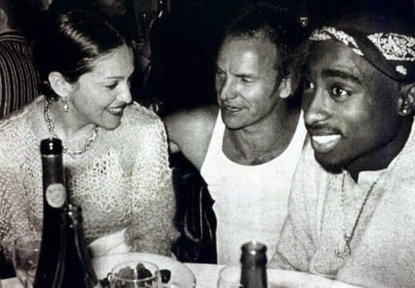 Ultimate Collection Of Rare Historical Photos. A Big Piece Of History (200 Pictures) - Madonna, Sting and Tupac
