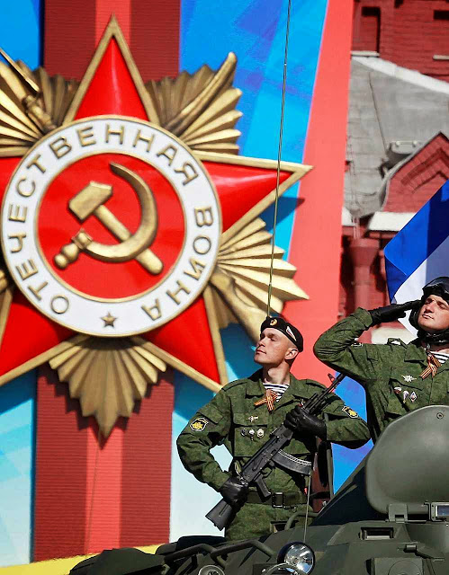 As FFAA e o esquema de repressão consomem 34% do orçamento russo