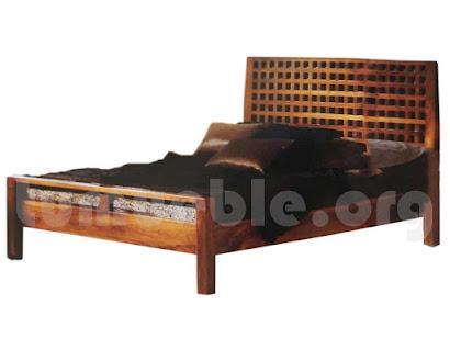 cama madera teca 4189