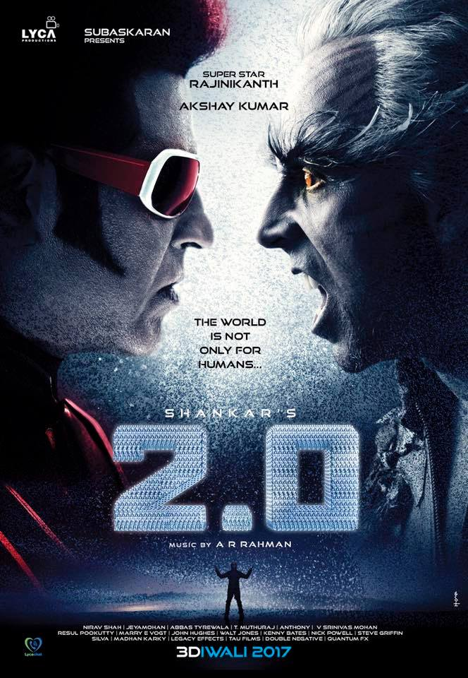 2.0 next movie first look, Poster of Rajinikanth and Akshay Kumar download first look Poster, release date