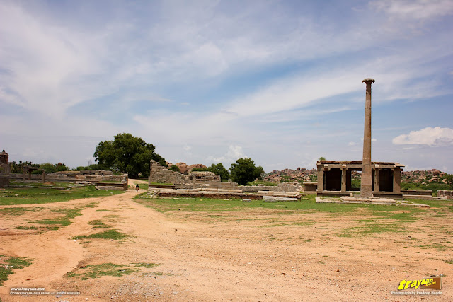 Pan Supari bazaar in Hampi, Ballari district, Karnataka, India