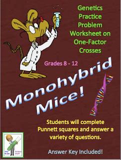 Amy Brown Science Free Monohybrid Genetics Practice