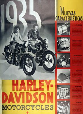 Harley Davidson Advertising 1930 S Riding Vintage