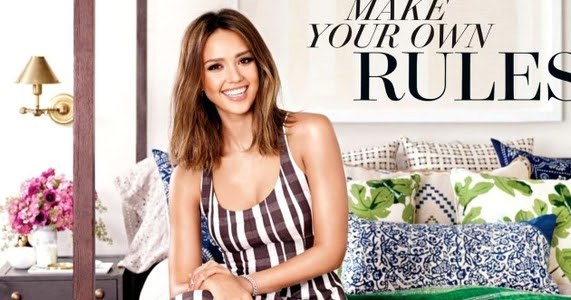 Beauty Mags Jessica Alba Better Homes And Gardens Us February 2016