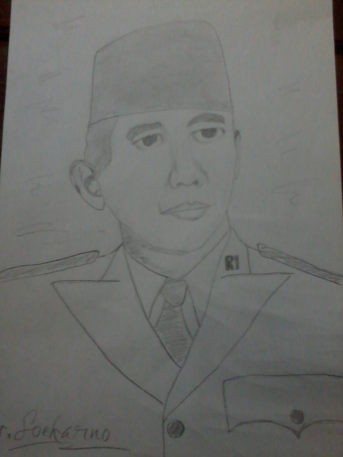Download Cara Menggambar Sketsa Wajah Pahlawan