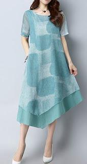 Vestidos de verano, Diseño Suelto.