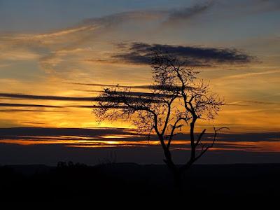 Puesta de sol Sierra de Guara