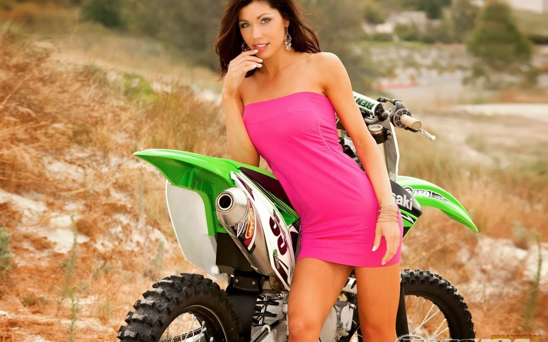 sexy girls bikes wallpapers - photo #13
