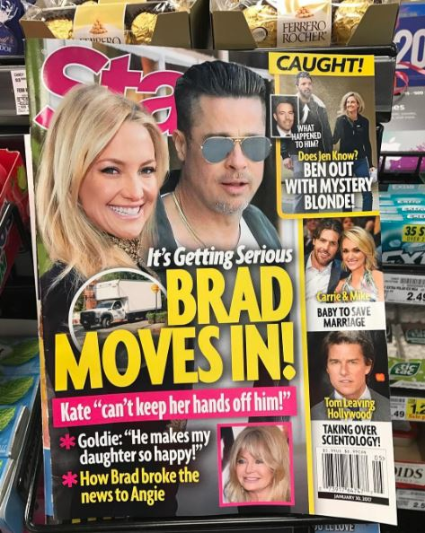 Brad Pitt Has A New Girlfriend Just Months After Divorce With Angelina Jolie,  And This Guy Isn't Happy About It!
