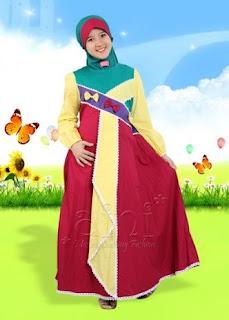 Model baju anak muslim untuk lebaran
