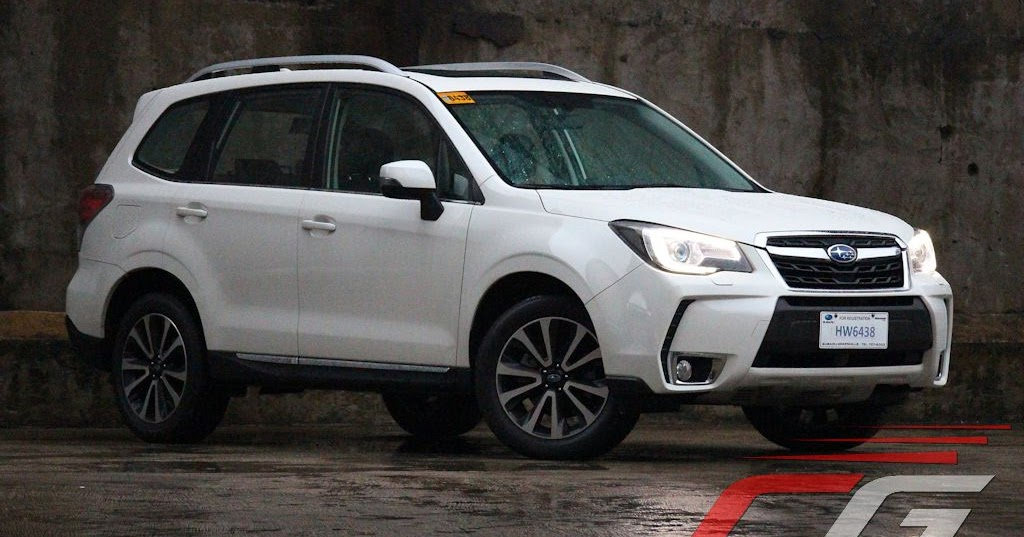Luxury Review 2016 Subaru Forester XT  CarGuidePH  Philippine