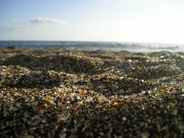 Glass Beach of California
