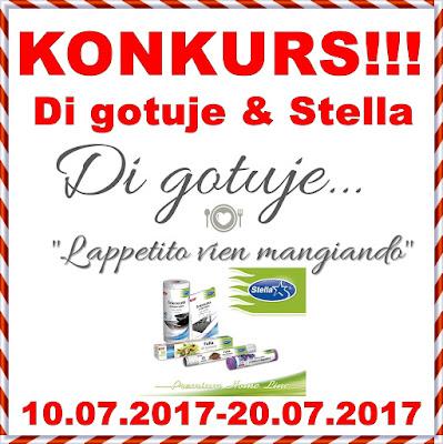 KONKURS - Di gotuje & Stella - do wygrania zestaw 5 produktów!