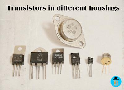 Transistors in different housings