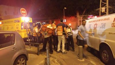 Ataque terrorista en el centro de Tel Aviv
