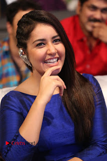 Actress Raashi Khanna Pictures at Supreme Success Meet  0077.JPG