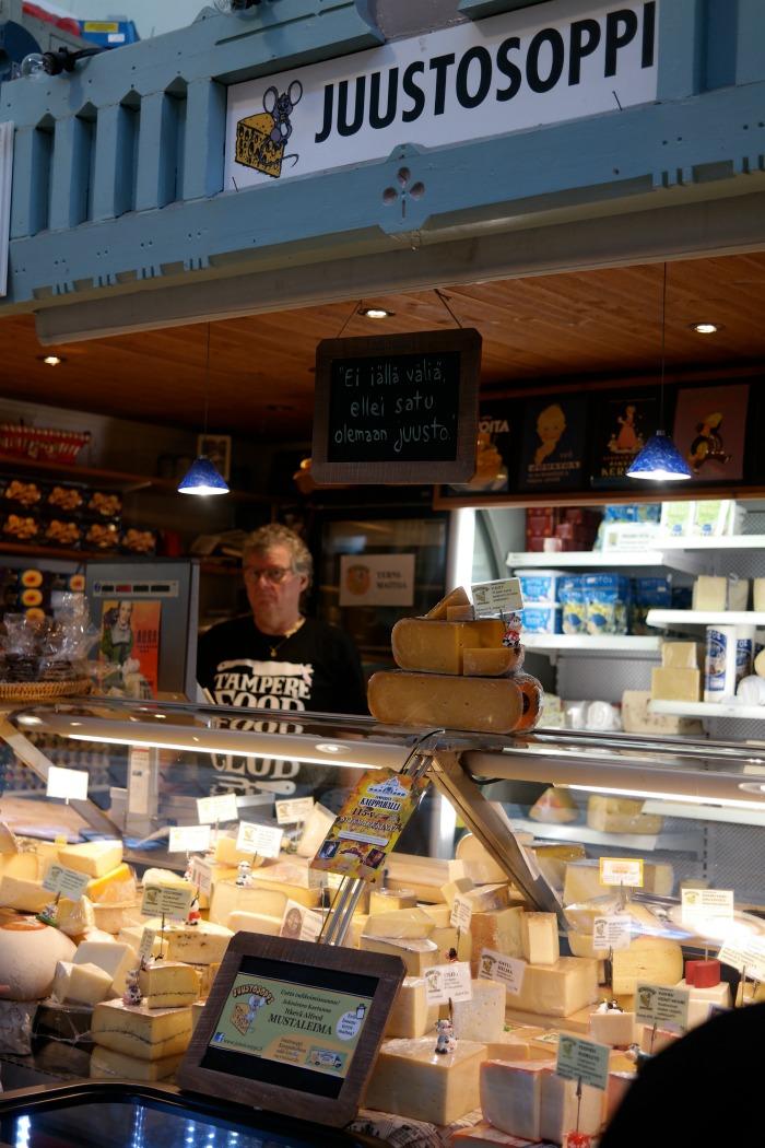 Kauppahallin juustokauppa