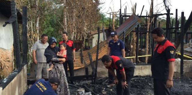 Tim Labfor Selidiki Sinabang Kebakaran