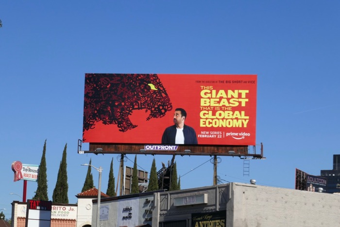 This Giant Beast Global Economy series billboard