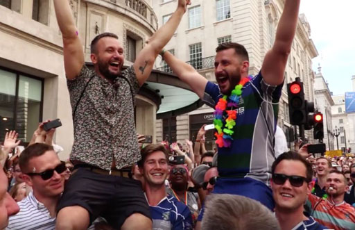 The Randy Report London Pride Parade Inspires Two Marriage Proposals