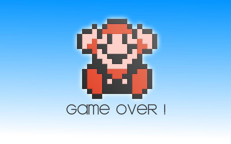 Video Game Gallery Super Mario Bros 3 Game Over Wallpaper