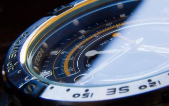 Wallpaper: Watch (Macro). Time. Clock