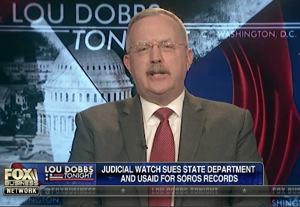 Judicial Watch sues State Department and USAID for Soros' records