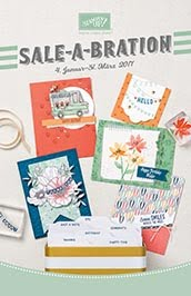 Stampin`UP! Sale-A-Bration
