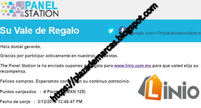 thepanelstation vale de regalo linio