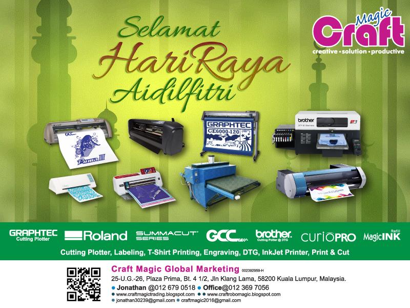 Craft Magic Global Marketing: SELAMAT HARI RAYA AIDILFITRI 2016