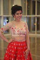Mahima in beautiful Red Ghagra beigh transparent choli ~  Exclusive 004.JPG