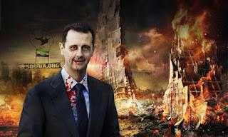 Asad Gantikan Pasukan Suriah dengan 'Hizbullah' di Suwaidah