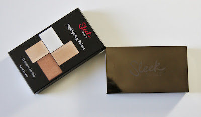 Sleek Precious Metals Highlighting Palette Packaging