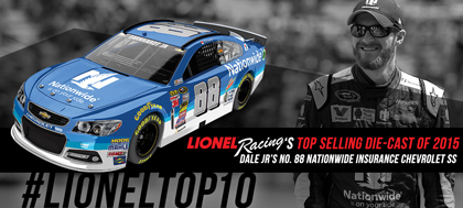 Lionel Racing Announces Best-Selling Die-Cast of 2015